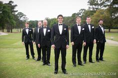 cape fear country club weddings, Wilmington NC, wedding pictures at the Cape Fear Country Club, groomsmen, black tux