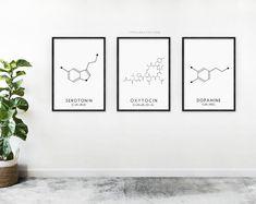 Items similar to Dopamine plus Oxytocin Card on Etsy