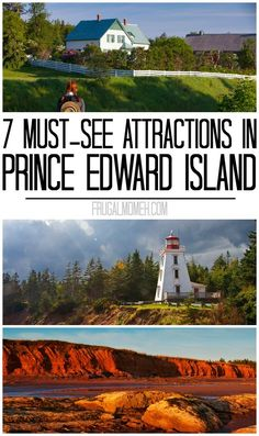 7 Must-See Attractions in Prince Edward Island whether travelling solo or on a family travel vacation in Canada! 7 Must-See Attractions in Prince Edward Island whether travelling solo or on a family travel vacation in Canada! East Coast Travel, East Coast Road Trip, Cool Places To Visit, Places To Travel, Travel Destinations, Prince Edward Island, Canada Winter, East Coast Canada, British Columbia