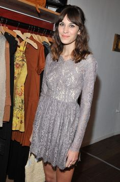 earlysunsetsovermonroeville:  Alexa Chung attends the launch party for Foundry at Foundry Store on October 19, 2012 in Los Angeles, Californ...