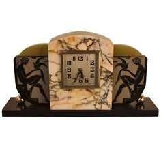 1stdibs | French Art Deco Clock By Marti