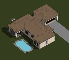 A four bedroom house plans drawing with garages for sale. Browse one storey 4 bedrooms house plans designs and Tuscan house plan designs in South Africa. Four Bedroom House Plans, Tuscan House Plans, 4 Bedroom House Designs, Garage House Plans, Bungalow House Plans, Small House Plans, Double Storey House Plans, Built In Braai, African House