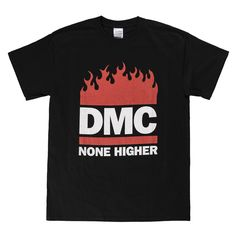 DMC Nonehigher TShirt - available from http://madina.co.uk