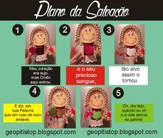 """Boneca Lili em: """"Plano da Salvação"""" - inspirado no livro """"Sem Palavras""""."""