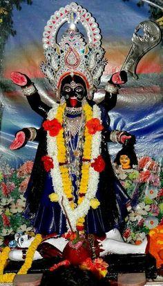 Durga Kali, Kali Hindu, Kali Mata, Shiva Shakti, Kali Goddess, Mother Goddess, Goddess Art, Maa Kali Images, Mother Kali