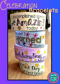 Celebration Bracelets- Classroom Management