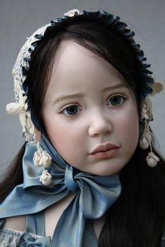 Дорогие посетители форума, любители кукол, хочу показать вам красоту, которую увидела совсем недавно. Это куклы Jeanne Gross dolls (Джинн Гросс).