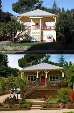 Curb Appeal-before and after