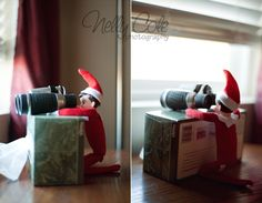 The Elf on the Shelf | Wichita, Kansas Elf Photographer » Nelly Cole Photography
