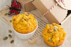 Pumpkin, polenta and chilli muffins