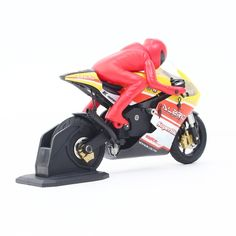 Original ALZRC RIDER R-100 RTR 1/10 Brushed RC Motorcycle with 2.4G 2CH Transmitter