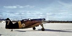 A Morane-Saulnier MS.406 Fighter of Finnish Air Force