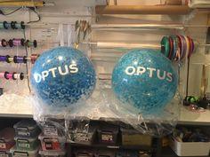 Custom printed confetti 3ft balloons