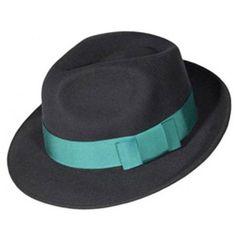 Pachacuti Fair Trade Ribbon Fedora Hat ($51) ❤ liked on Polyvore