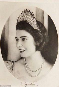 Princess Elizabeth aged 18