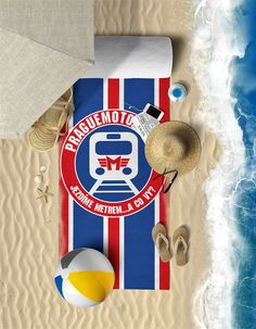 Beach Towel / Osuška pro Prague Motorfans