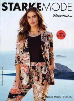 c0212754ecf Каталог одежды для полных девушек немецкого бренда Peter Hahn весна-лето  2019