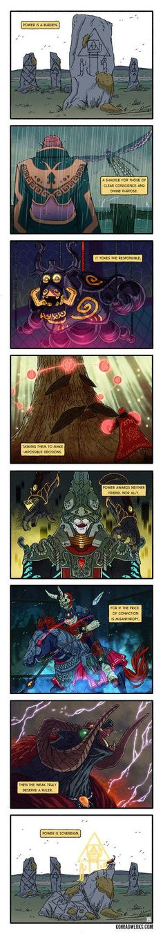 Part 3 - Zelda Mini Comic by PaulReinwand
