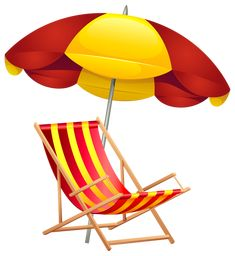 beach scene clip art beach chair vector landscape free vector rh pinterest com  free clipart beach chair and umbrella