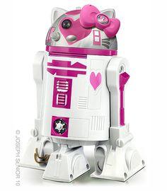 R2D2 Hello Kitty #starwars #geek