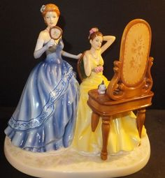 Royal Doulton Pretty Ladies Dressing for The Ball Canadian Exclusive HN5580 New | eBay