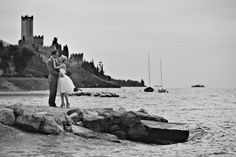 Malcesine, Italy wedding #wedding #weddinginvitations