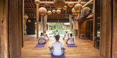 Blue Karma Senses, Indonesia - 1 of 30 studios chosen as places you must practice this lifetime! https://zenactivesports.com/30-incredible-yoga-studios/