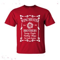 Supernatural Winchester Brothers Since 1983 Saving People Hunting Things The Family Business