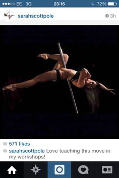 Pole move - no hand jade/duchess or something like that