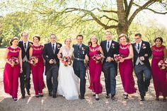 Pink far too bright  RAF Wedding Photography - Rosie & Pete