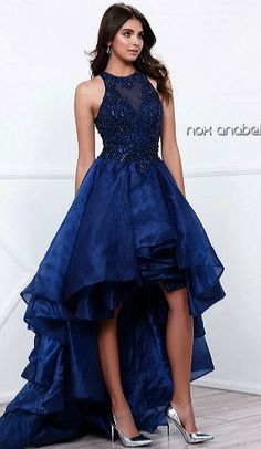 Evening Dresses Prom Dresses by ANABELana8304Illusion jewel neckline bodice  with lace appliques and scattered bead work aaca98f5464d