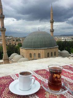 Kahve or Çay overlooking Urfa