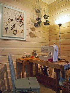 sewing room  - crafty room
