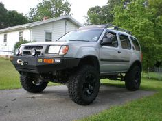 2001 Nissan Xterra Tires are purpose built. Put simply, they have been built using the specifications which are ideal to the Nissan Xterra, 2004 Nissan Pathfinder, Rock Sliders, Jeep Liberty, Car Parts, Offroad, 4x4, Monster Trucks, Vehicles