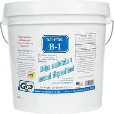 Su-Per B-1 (Thiamine) Horse Feed Supplement 12.5 lb (200 - 400 days)