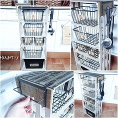 Diy Furniture Bathroom - Diy Table With Shelves - - - Diy To Sell Jewelry Diy Organizer, Diy Organization, Diy Crafts To Do, Diy Arts And Crafts, Diy Projects To Try, Diy Fashion Videos, Finding A Hobby, Diy School Supplies, Diy Table