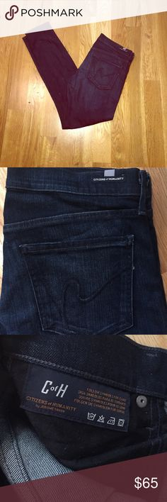 ⭐️1 HOUR SALE⭐Citizens of Humanity Avedon Skinny Excellent condition. Worn once to work, but I'm a True Religion girl. Great fit! Size 32 Citizens of Humanity Jeans Skinny