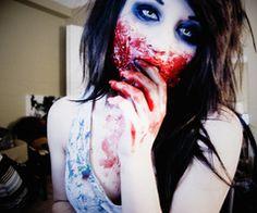 scary make up halloween