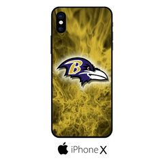Baltimore Ravens Flame IPHONE X