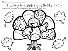 math worksheet : 1000 images about multiplication and division on pinterest  long  : Thanksgiving Multiplication Worksheets