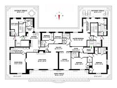Some pretty good looking floorplan porn has arrived on the scene today for the Milan House's penthouse apartment on 68th Street between...