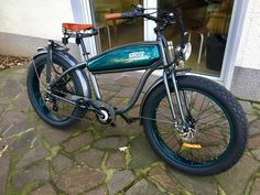 best ebike ever! Rat Bikes, Cool Bikes, Build Stuff, Cruiser Bicycle, Garage Makeover, Scooters, Motorbikes, Trailers, 3