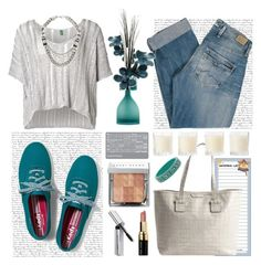 """""""Go to shopping"""" by mary-domenech ❤ liked on Polyvore featuring Pepe Jeans London, Bobbi Brown Cosmetics, MANGO, Emporio Armani, Keds, Marc by Marc Jacobs and Shabby Chic"""