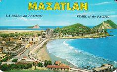 Vista panoramica, Olas Altas, Mazatlan, Sinaloa, Mexico