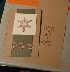 Club Scrap Creates: Let's make Some Christmas Cards // tute for 60 quick cards!