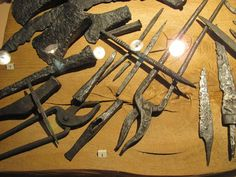 9-11th century Poland. Various tools in Warsaw historical museum. From Anton Shatov.