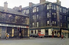 Duke Street at Millerston Street - September 1977