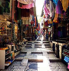 Old City Jerusalem market  (photo by: DMills)