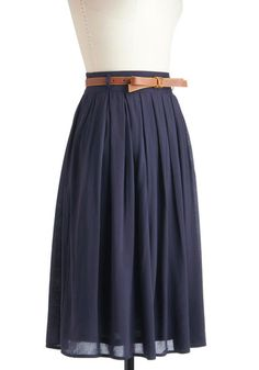 With my cowboy boots and sheer pink tights...cute! Porch Swing Dance Skirt, #ModCloth $47.99