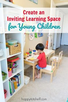 Creating this homeschool room for my young children is one of my best decision I made as a parent. Find all my homeschool room ideas, tips & supplies here. Preschool Rooms, Preschool At Home, Preschool Curriculum, Preschool Learning, Homeschool, Kindergarten, Home Learning, Learning Spaces, Toddler Learning